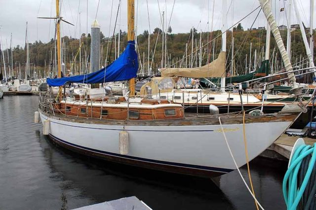 '69 Offshore 40 by Cheoy Lee - Fixed Keel Bluewater Sailboat - Volvo Diesel for sale in Seattle ...