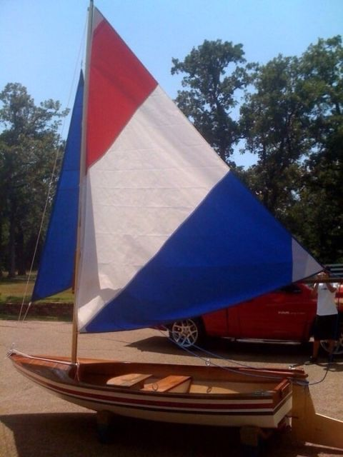 12 Foot wooden sailboat for sale in Argyle, Texas, United ...
