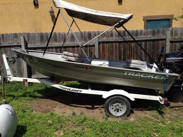 12 ft tracker fishing boat 2006 trailer and 2014 mercury for 12 foot fishing boat