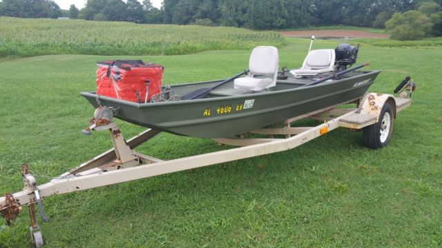 Agree, this Flat bottom aluminum fishing boats