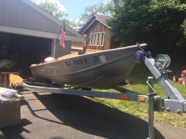 14 foot aluminum fishing boat for sale in lititz