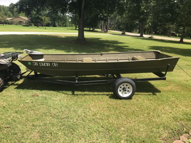 1436 Jon Boat for sale in Starkville, Mississippi, United States