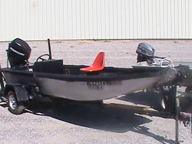 15 foot solid double hulled aluminum fishing boat for sale for Custom aluminum fishing boats