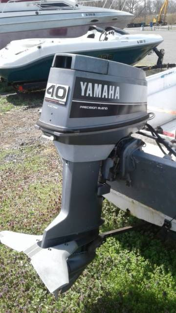 15 ft open skiff boat 40 hp yamaha with trailer for sale for 40 hp yamaha for sale