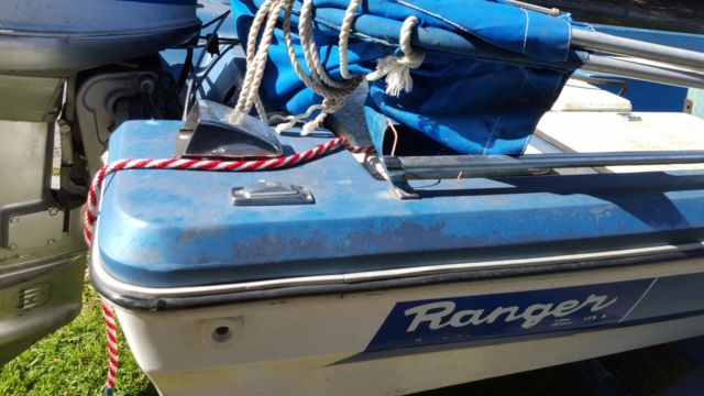 Boat Trailer Wiring >> 17' Ranger Bass boat 115 hp for sale in Tampa, Florida ...