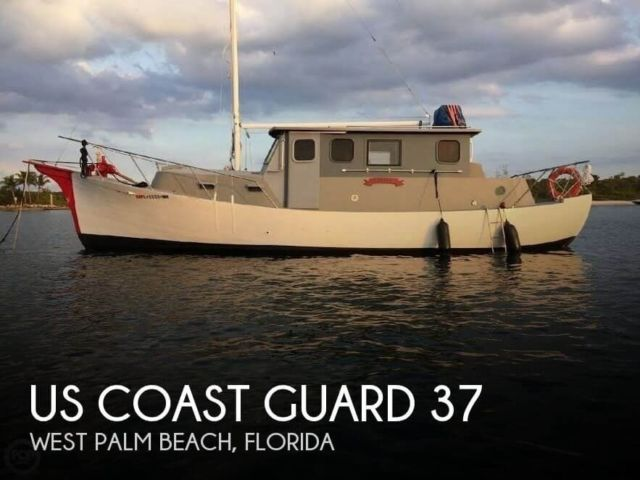 1934 us coast guard 37 motor life boat used for sale in for West palm beach motor vehicle registration