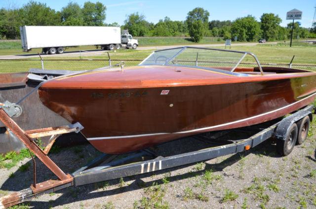 Chris Craft Boat Restoration Michigan