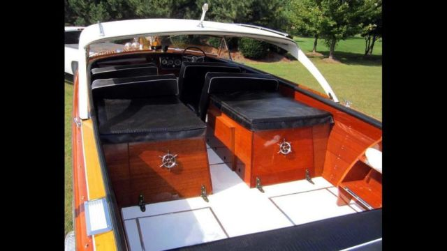 1956 CHRIS-CRAFT CONTINENTAL 26FT EXTREMELY RARE HARDTOP for sale in