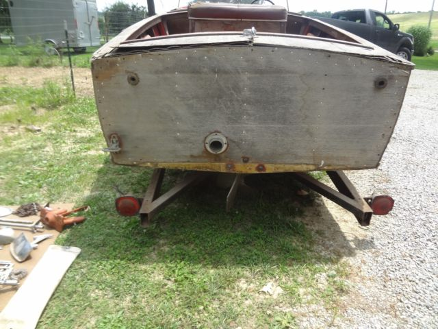 1957 17' CHRIS CRAFT Cavalier Utility Wooden Boat with trailer for sale in Seymour, Indiana ...