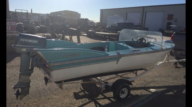 Arkansas Bill Of Sale >> 1958 Herter's Flying Fish boat with fins like a 1957 Chevy for sale in Lubbock, Texas, United States