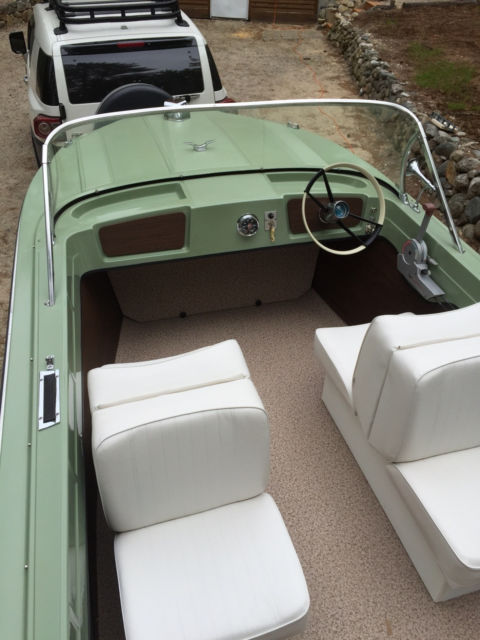 1966 Classic Restored Fiberglass Boat For Sale In Ossipee
