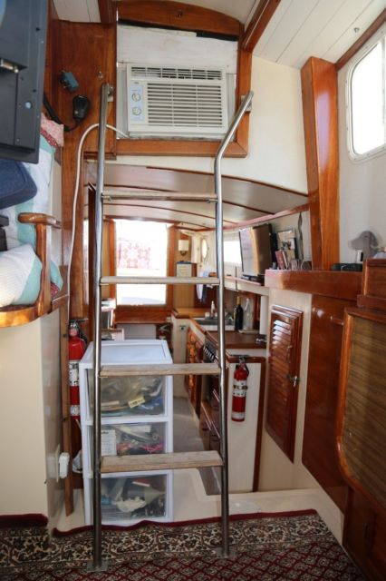 Who Makes Interstate Batteries >> 1974 Fales Navigator Motorsailer/Trawler Totally Redone/Restored Go Anywhere! for sale in ...