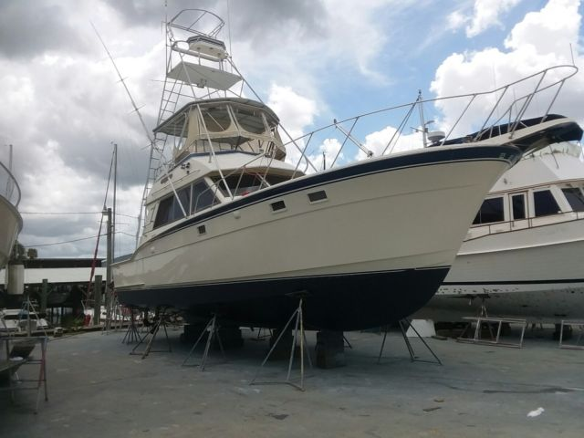 1983 43 Foot Hatteras Sport Fisherman Convertible For Sale