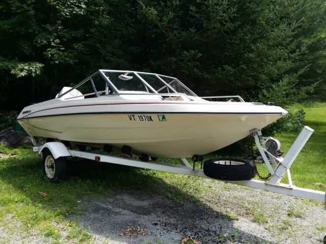 1984 glastron ssv bowrider johnson 115v outboard motor for Bowrider boats with outboard motors