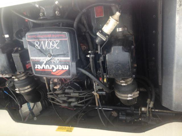1986 baja sport 220 boat mercruiser 260 hp 350 v8 alpha ss for 400 hp boat motor price