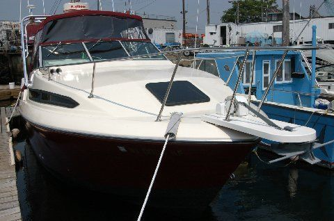 1987 Imperial 26 Ft Twin 180 Mercruisers Inboard