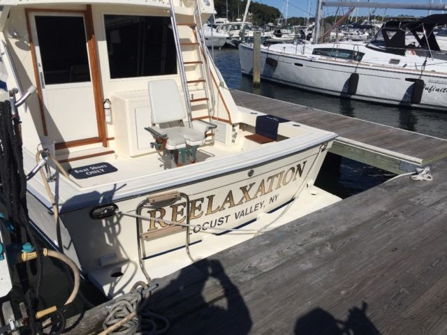 1987 Viking 41 Convertible For Sale In Huntington New