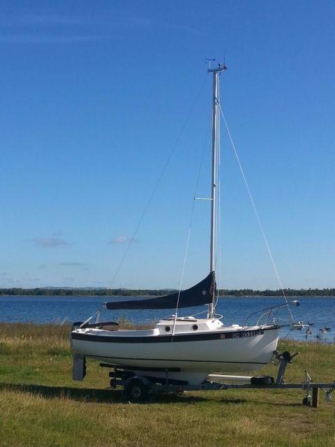 Boat Trailer Brakes >> 1988 Compac 16-3 Sailboat for sale in Phillipsburg, Ohio ...