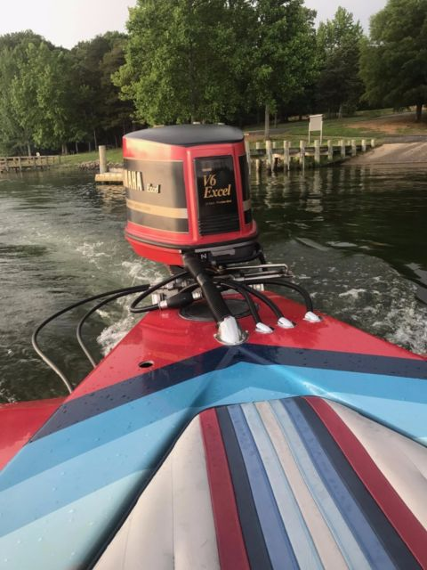 1989 hydrostream powerboat with excel v6 yamaha outboard for Outboard motors for sale maryland