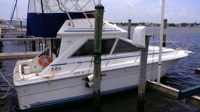 1989 searay sedan bridge 34 footer for sale in west palm for Port motors west palm beach
