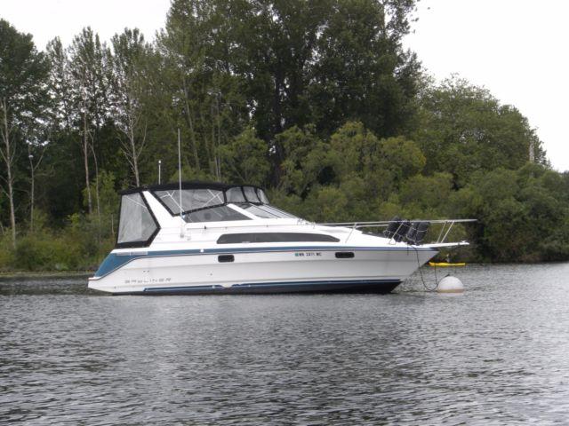 1991 bayliner 2855 ciera sunbridge for sale in kirkland washington rh yachtsboatslist com Bayliner 2855 Bimini Top Bayliner 2855 Bimini Top