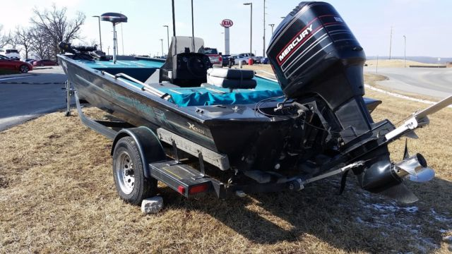 Stratos Boats For Sale >> 1995 18ft AlumaWeld Bass Boat with Trailer for sale in ...
