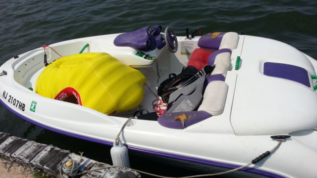 1995 Seadoo Speedster 14 Ft  W   Trailer For Sale In