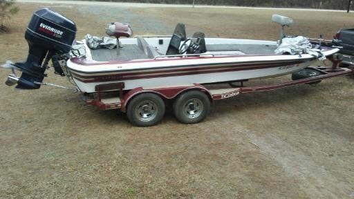 1996 Cobra 20ft Dc Bass Boat With 200 Evinrude Quot No Reserve