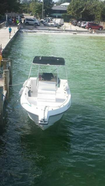 1998 offshore center console boat it had twin yamaha 150s for Yamaha repower cost