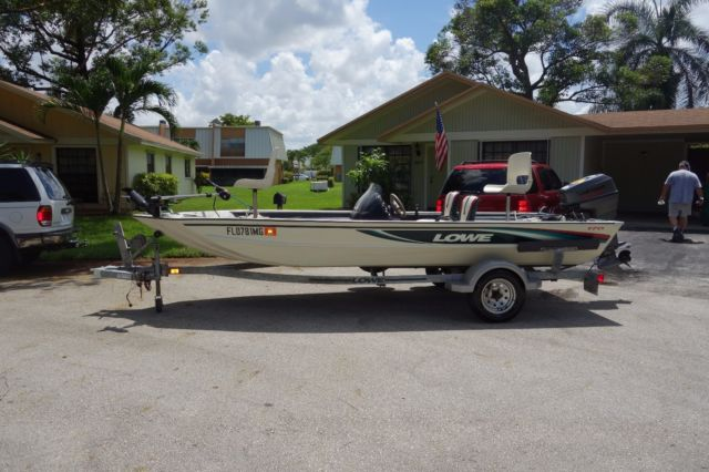 1999 Lowe 170 Bass Boat For Sale In Fort Lauderdale  Florida  United States
