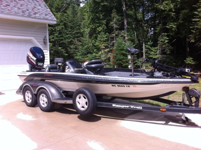 1999 ranger 518 vx2006 boat with 200 evinrude e tec motor for Bass boats with evinrude motors