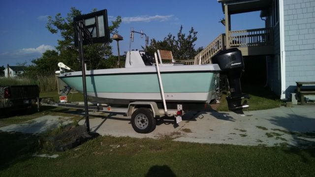 20 ft hydra sport bay boat with mercury outboard motor for Mercury outboard motors for sale in florida