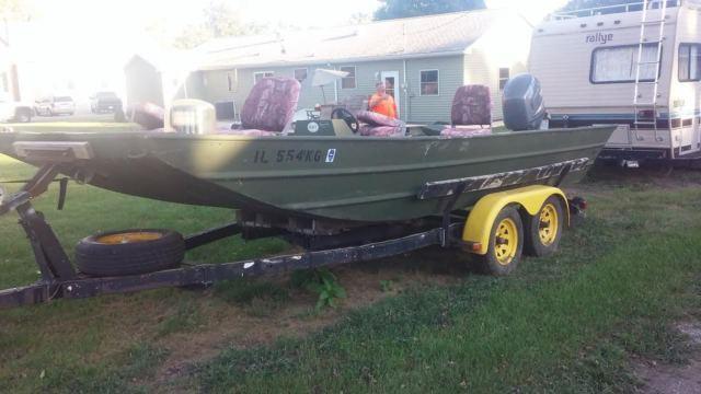 2000 20 U0026 39  Foot Alweld Commercial 2072 Jon Boat River 115 4
