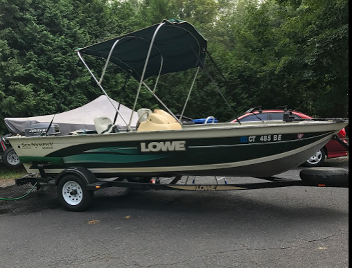 2000 lowe 16 ft sea nymph aluminum fishing boat for sale for 16 ft fishing boat