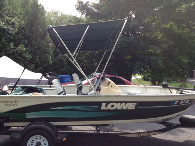 2000 Lowe 16 Ft Sea Nymph Aluminum Fishing Boat For Sale