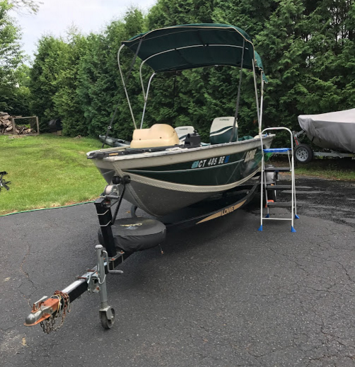 Instant Boat Nymph : Lowe ft sea nymph aluminum fishing boat for sale