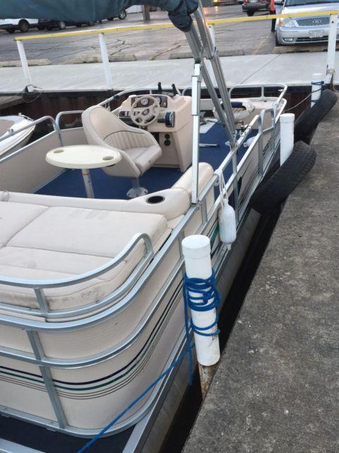 2001 Premier Pontoon Boat For Sale In Carpentersville