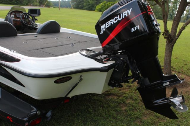 2002 Ranger 195vs Bass Boat W 200hp Mercury Trailer