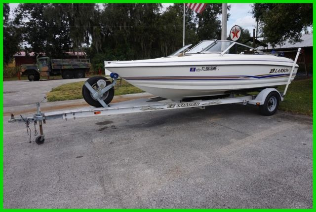 2003 Larson SEI 180 Open Bow Boat Used for sale in Seffner