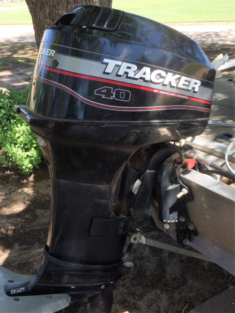 2003 Pt 175 Bass Tracker Boat Motor And Trailer For Sale