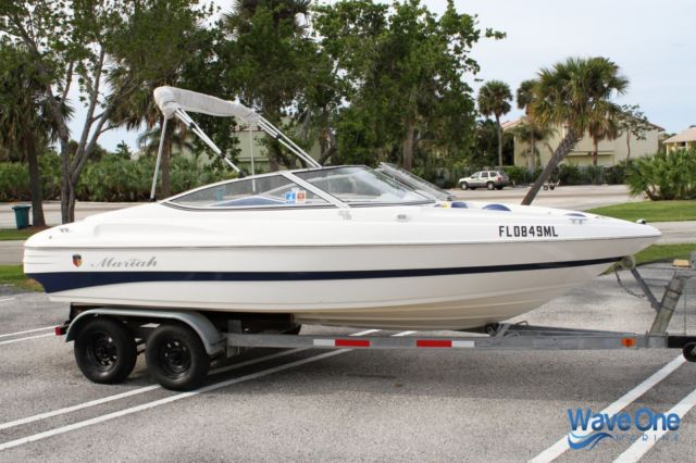 BOAT COVER FOR MARIAH SX 18