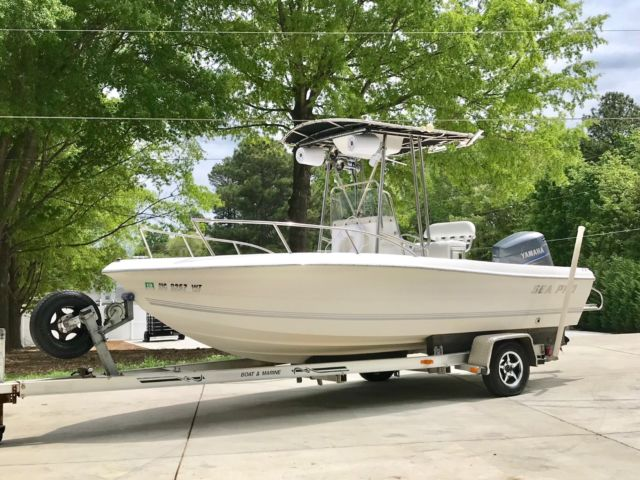 2004 Sea Pro 21ft Center Console Like New Decked Out 150hp For Sale In Monroe  North Carolina