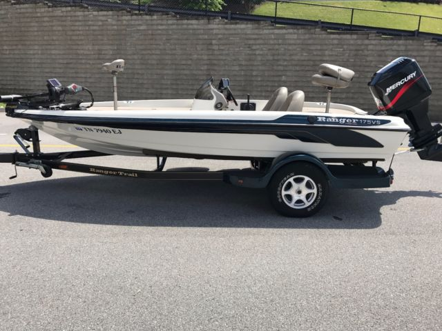 2005 Ranger 175 Vs Single Console Fishing Boat Excellent