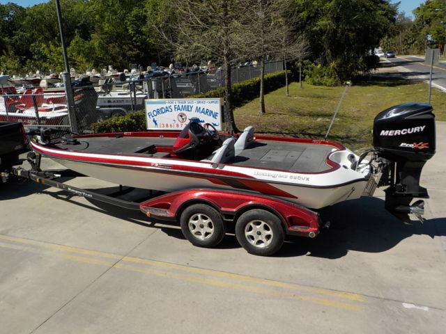 2006 RANGER 520 VX SINGLE CONSOLE BASS FISHING BOAT 225 PRO XS