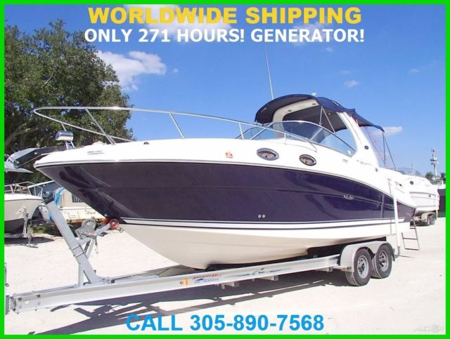 2006 SEA RAY SUNDANCER 260! 271 HOURS! GENERATOR! for sale in Fort