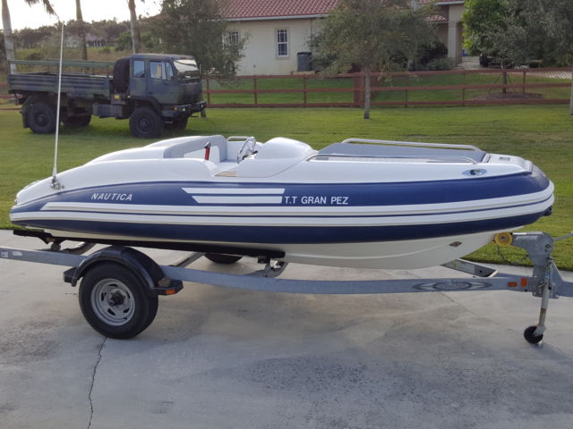 2007 nautica 16 ft inflatable boat rib jet limited 4 for Yamaha motor boats for sale