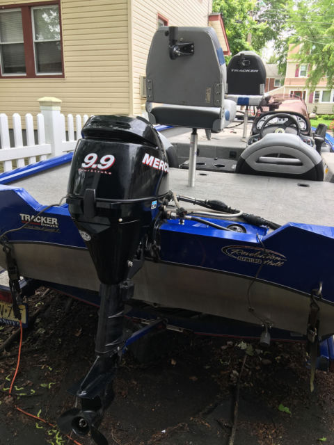 2007 Pro Team 175 Txw Bass Tracker Boat Motor And Trailer For Sale In Teaneck New Jersey