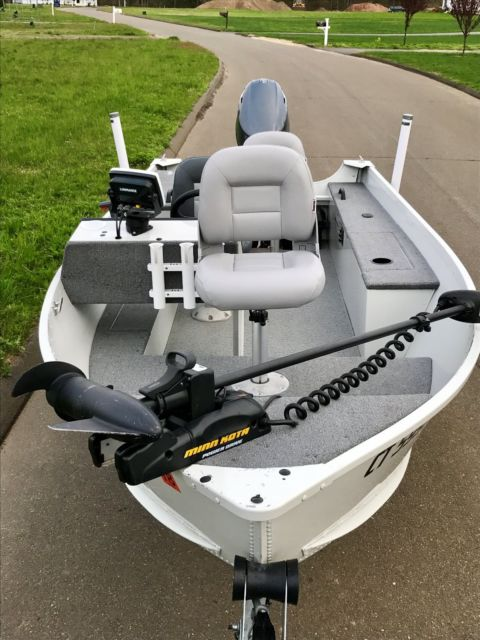 Alumacraft Boats For Sale >> 2008 Alumacraft Fisherman 145cs with 2012 Yamaha 25 hp 4-Stroke GREAT BOAT for sale in Madison ...