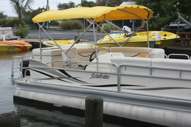 2009 sweetwater 2386re pontoon boat 23ft mercury 60hp 4s for Outboard motors for sale maryland