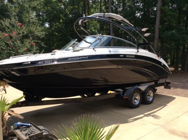 2013 Yamaha 242 Limited S High output jet boat for sale in Ore City ...